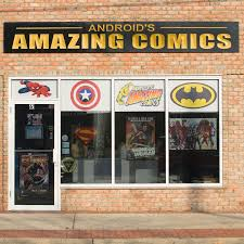 Androids Amazing Comics 2