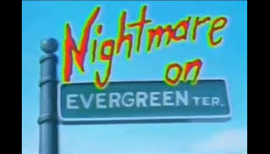 simpsons Nightmare on Evergreen