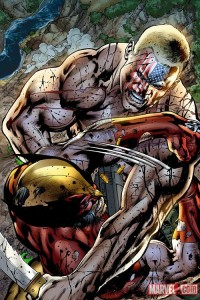 Nuke Vs Wolverine By Bryan Hitch