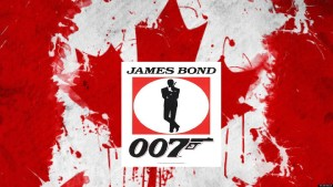 James Bond Canadian Logo