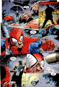 Punisher spidey kill