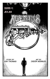 Agent 18 Poster 2