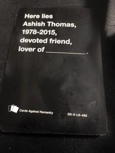 Ashish Card