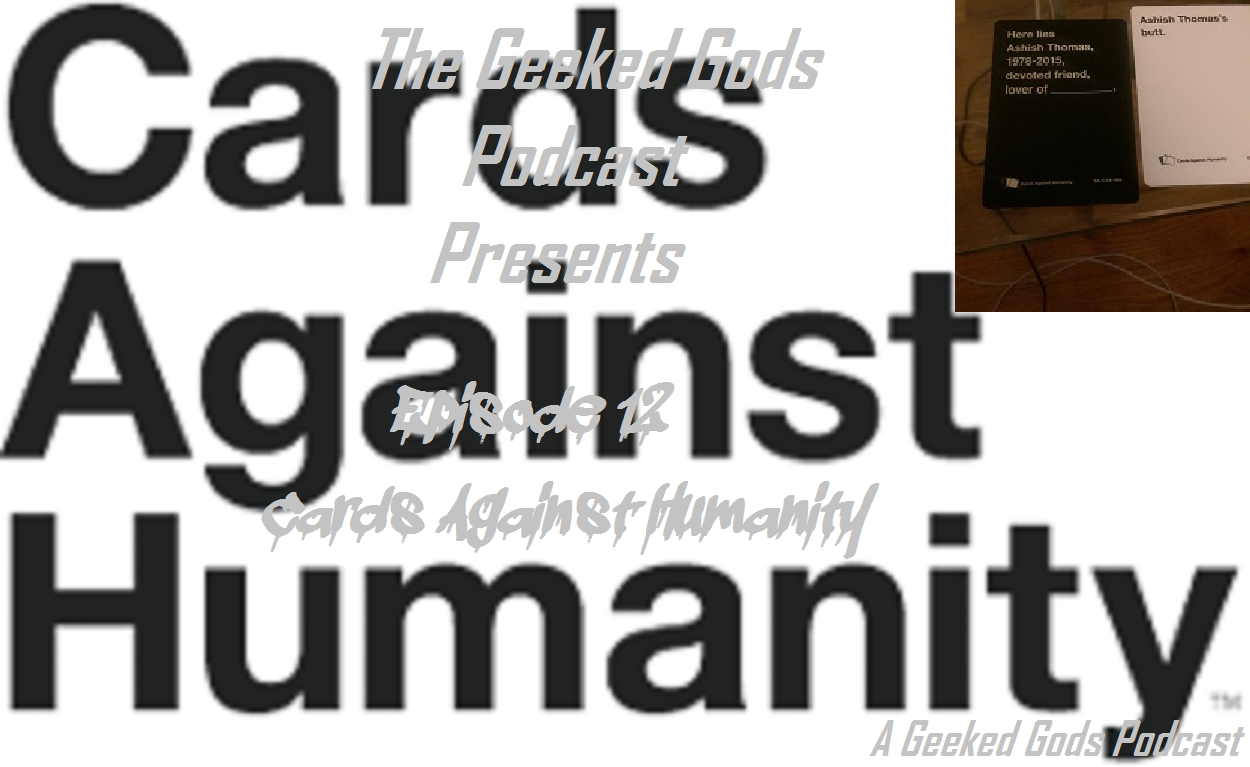 Cards against Humanity Podcast Cover