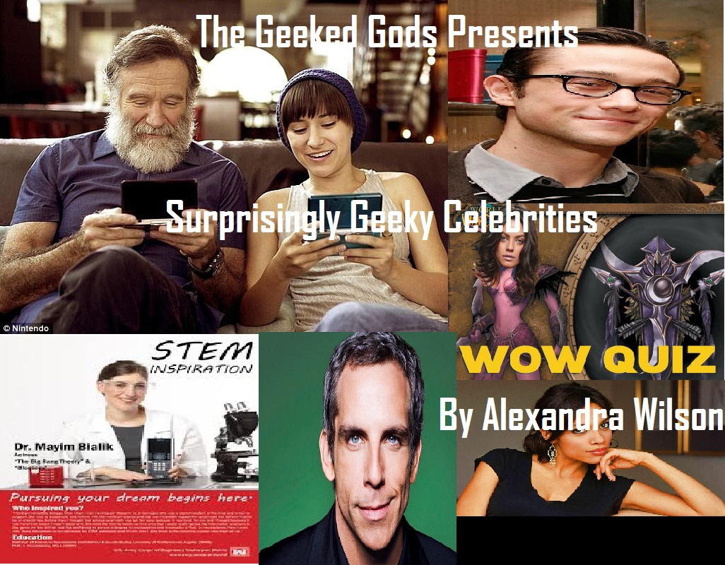 Geeky Celebs Cover
