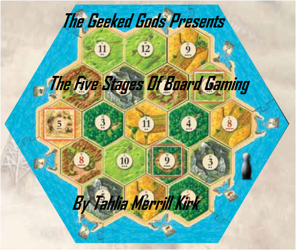 """The 5 Stages of Board Gaming"""