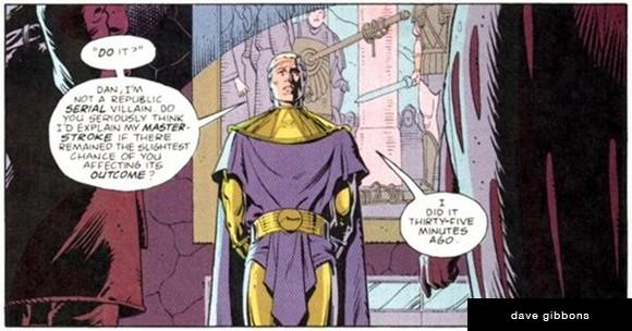 Ozymandias Watchmen Comic