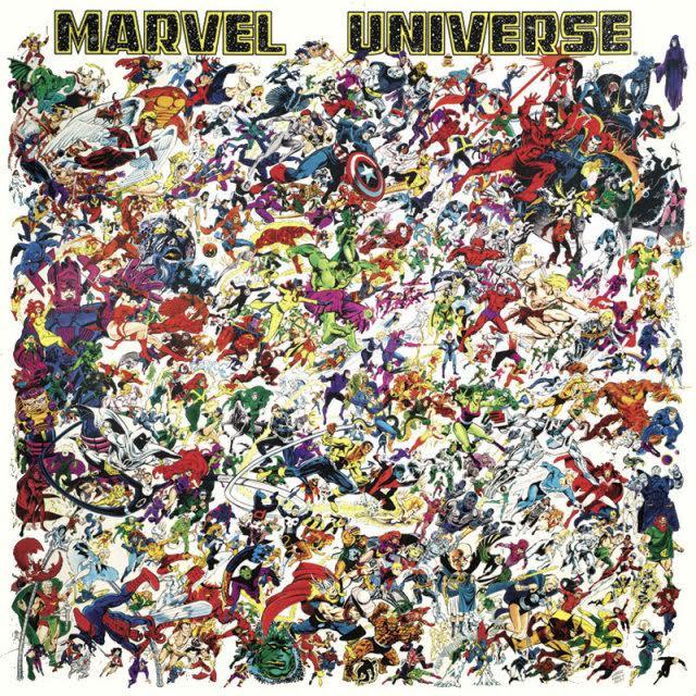 Marvel Universe Dickens