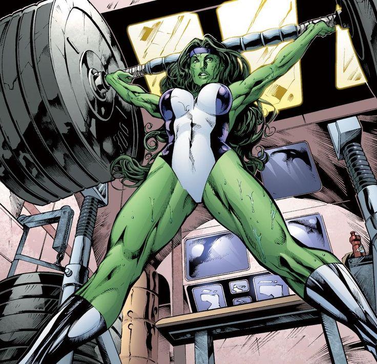 She Hulk Strength