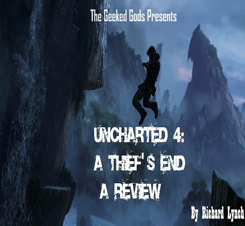 Uncharted 4 cover