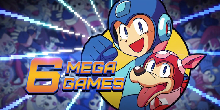Mega-Man-Legacy-Collection 6 games