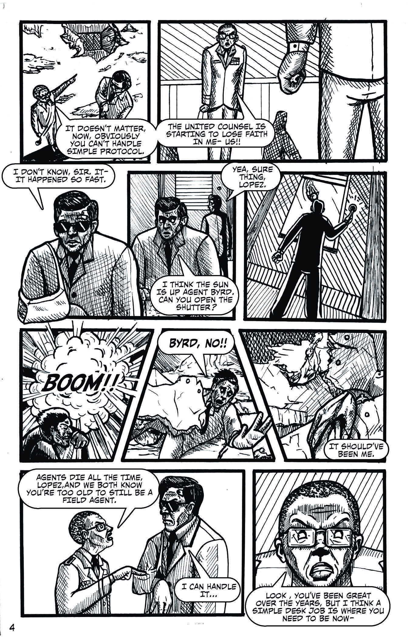 Agent 18 – Issue 1-5