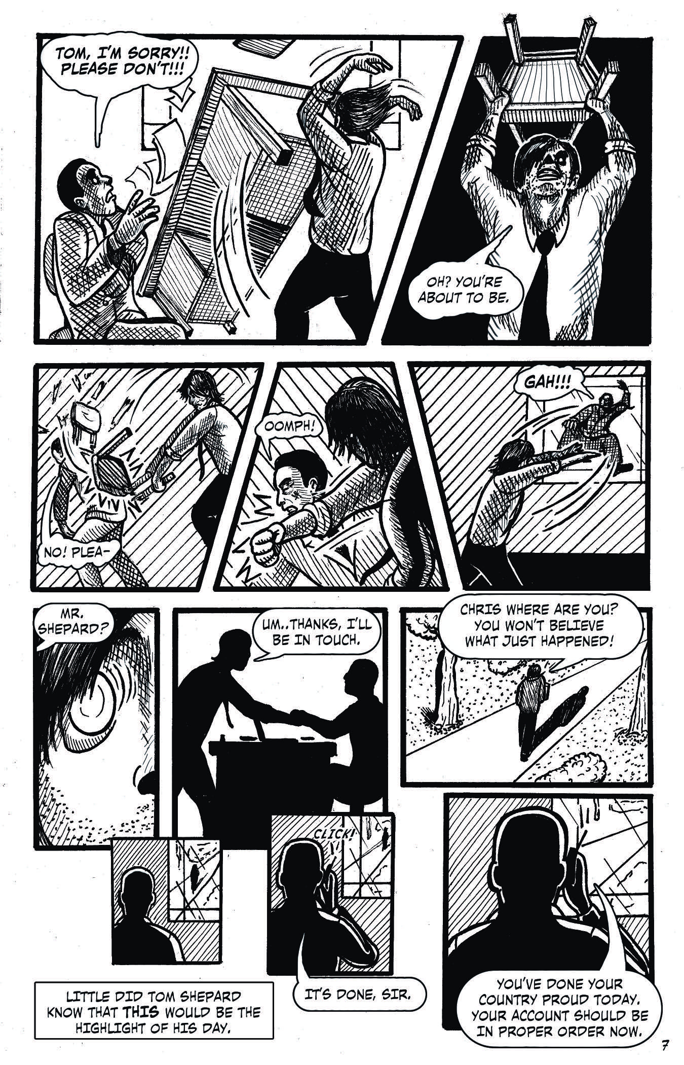 Agent 18 – Issue 1-8