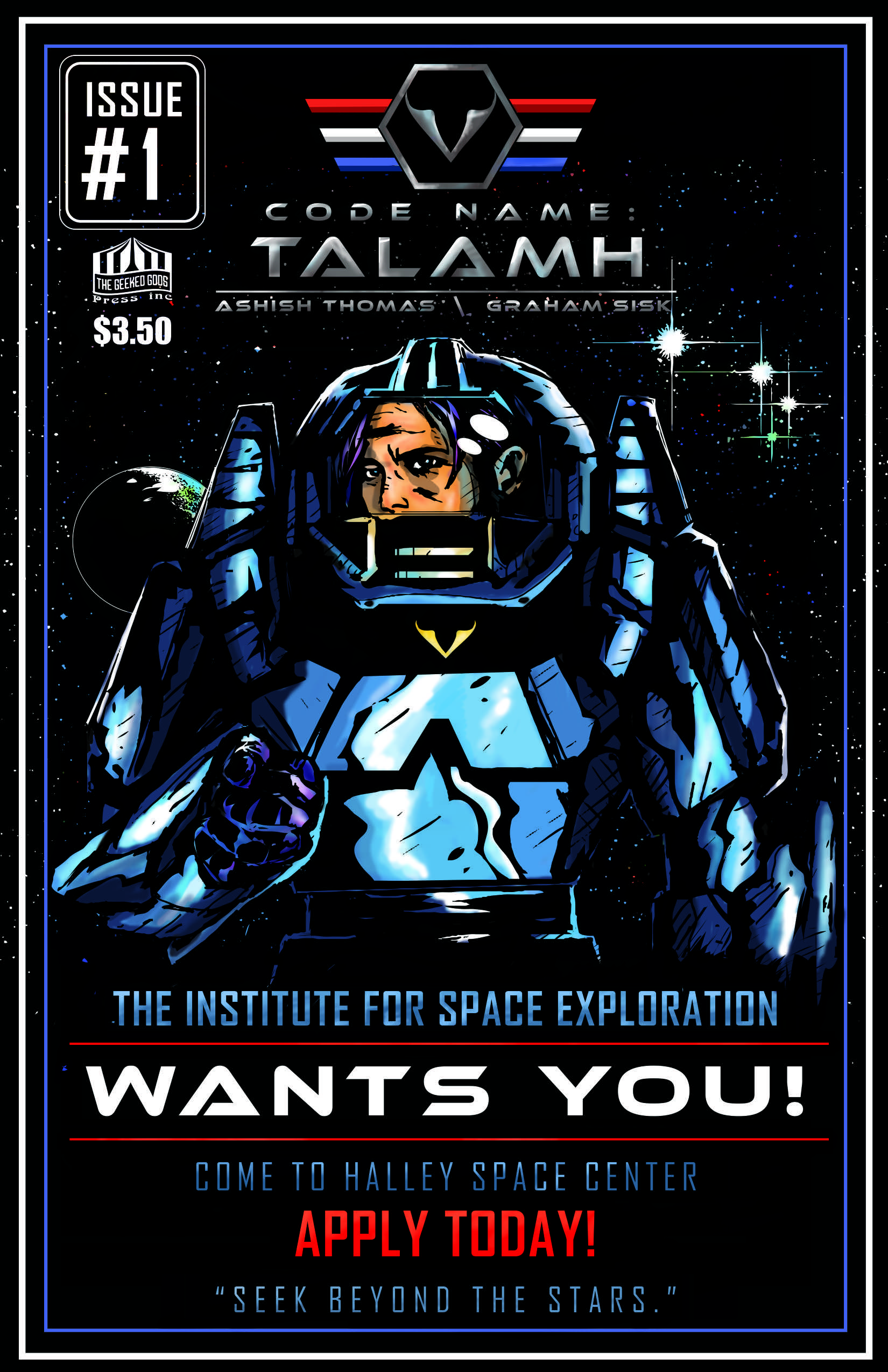 Code Name: Talamh Issue 1 Cover