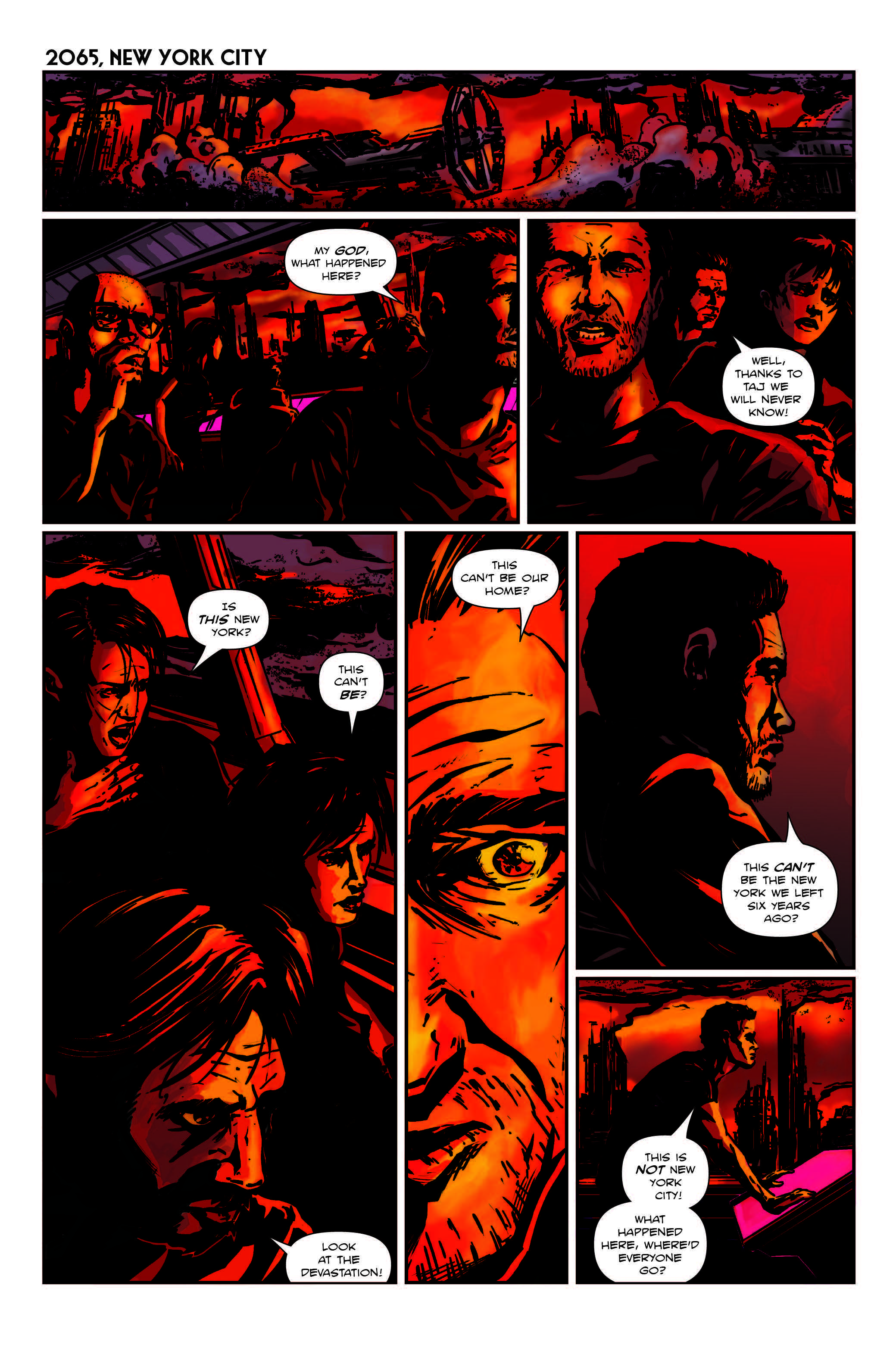 Code Name Talamh Issue 2 Page 1