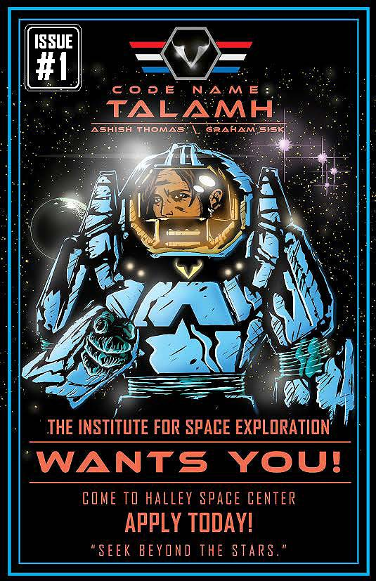 Code Name: Talamh Issue 1 Remix-Cover