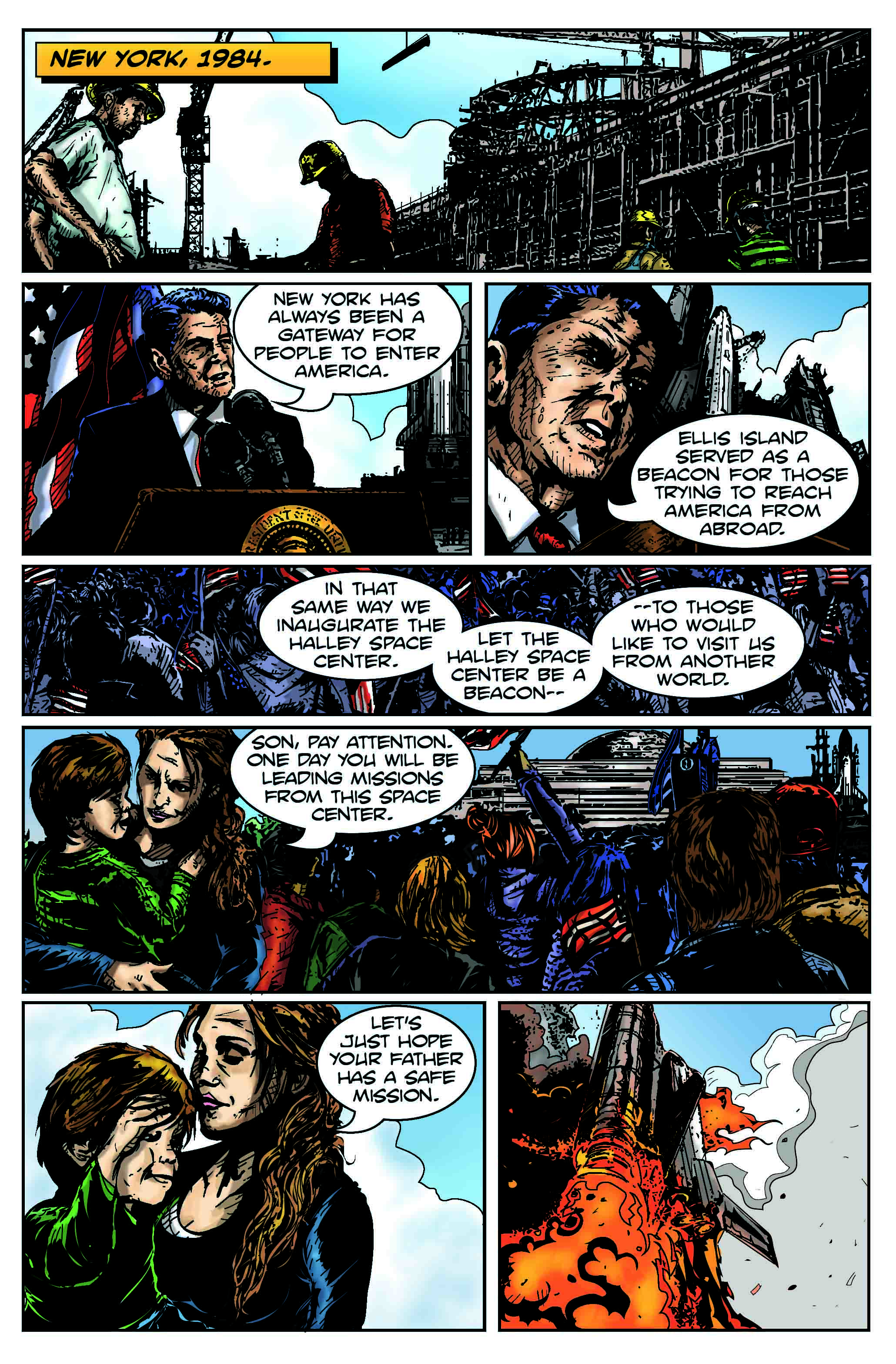 Code Name Talamh Issue 1 Remix-Page 1