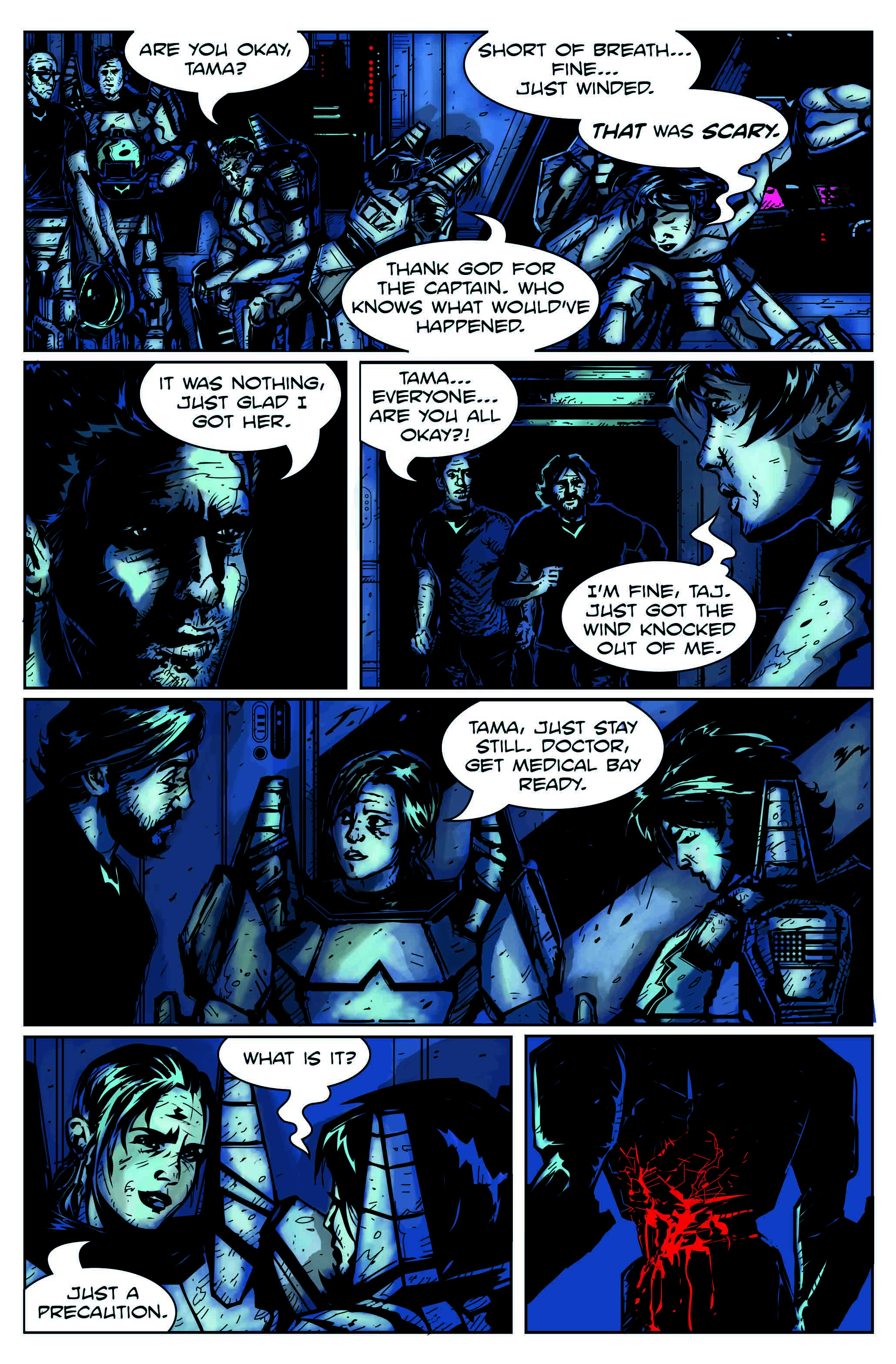 Code Name Talamh Issue 1 Remix-Page 8