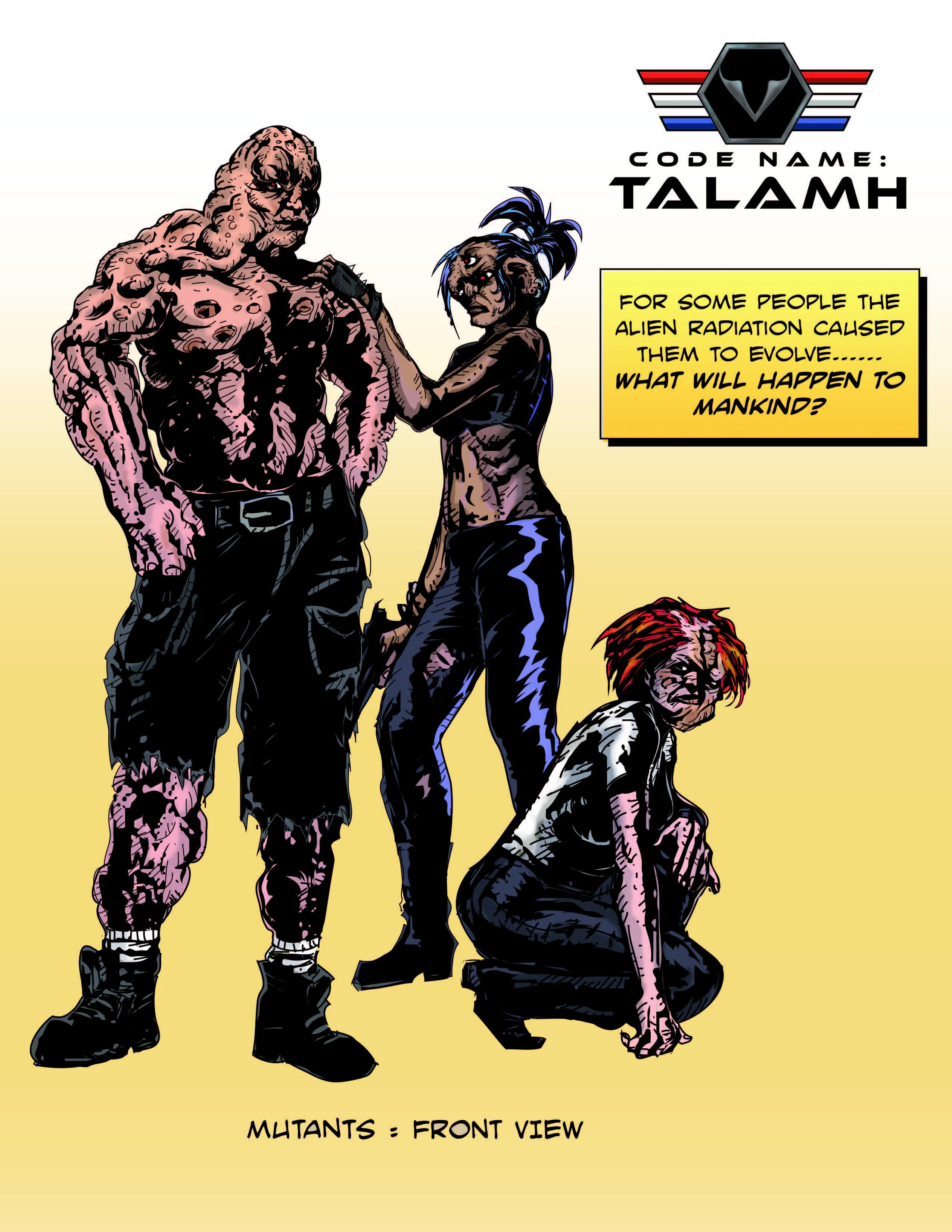 Mutants-Code Name: Talamh