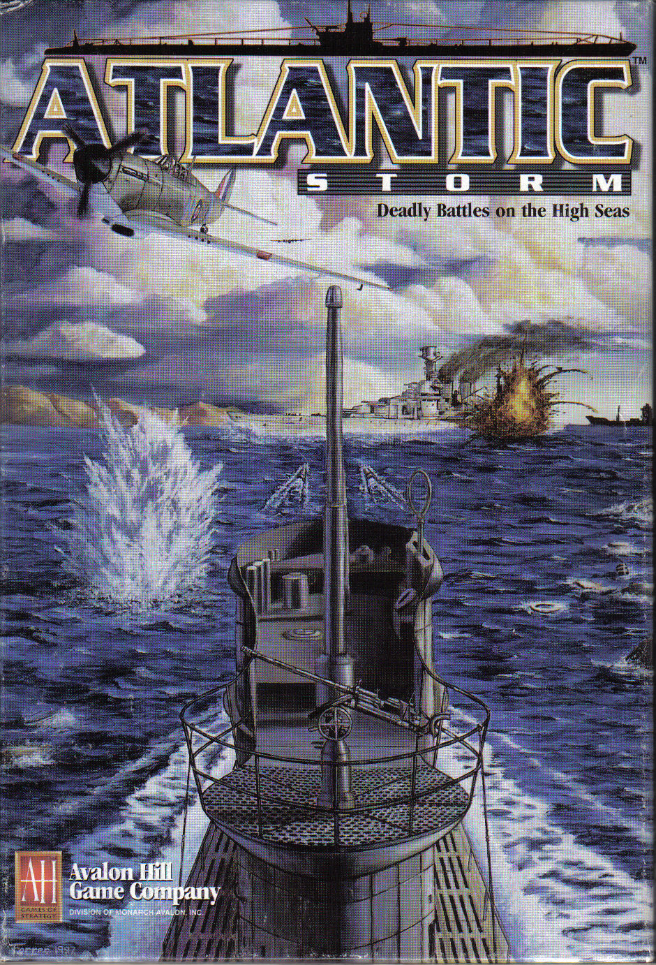 Atlantic Storm Board Game Cover
