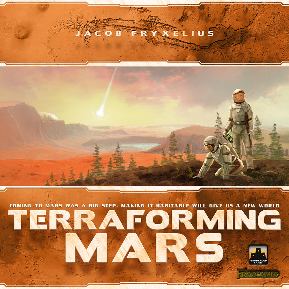 Terraforming Mars Board Game Cover