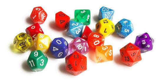 dice header