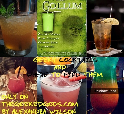 Geeky Cocktails covered