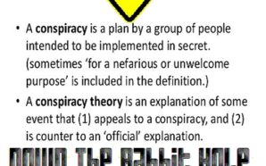 Down the Rabbit Hole-Conspiracy Theories II