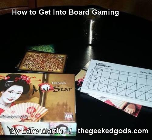 How to get into Board Games Cover