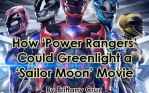 Power Rangers Sailor Moon Cover 1