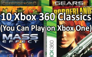 10 Xbox Classics (You Can Play on Xbox One)