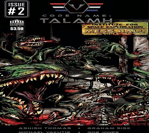 Code Name Talamh Issue 2 Front Cover