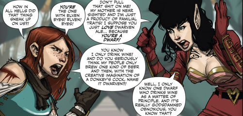 Rat Queens Argue
