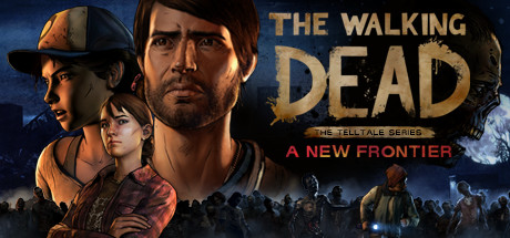 Walking Dead New Frontier Cover