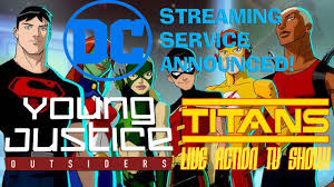 Young Justice Outsiders Teen Titans Streaming