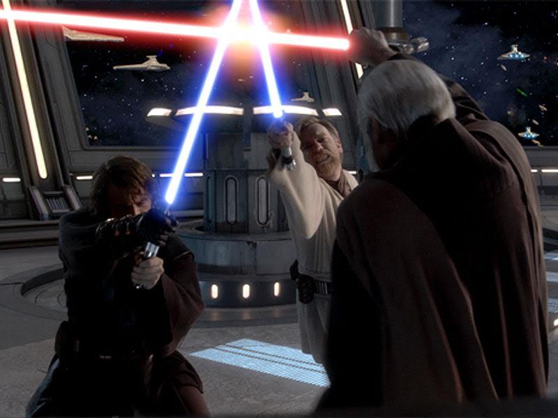 Anakin, Kenobi Vs dooku