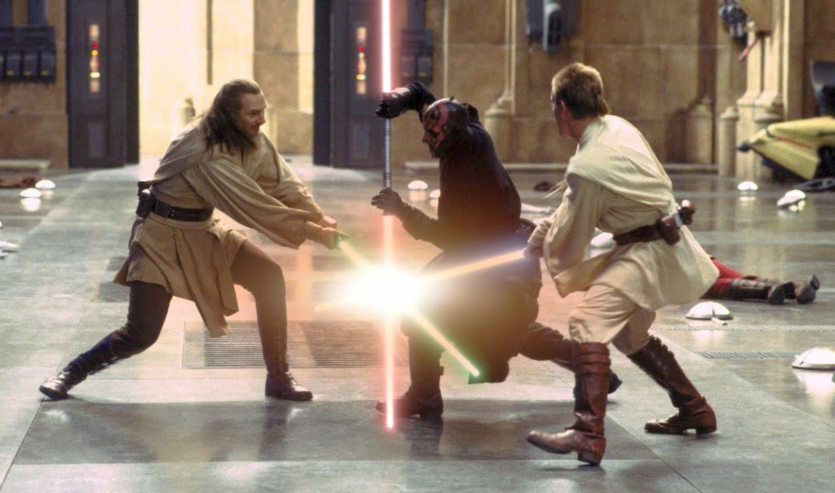 Dual Sabers Fight