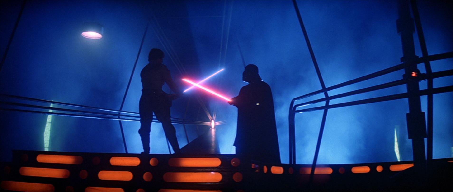 Luke Vs Vader Bespin