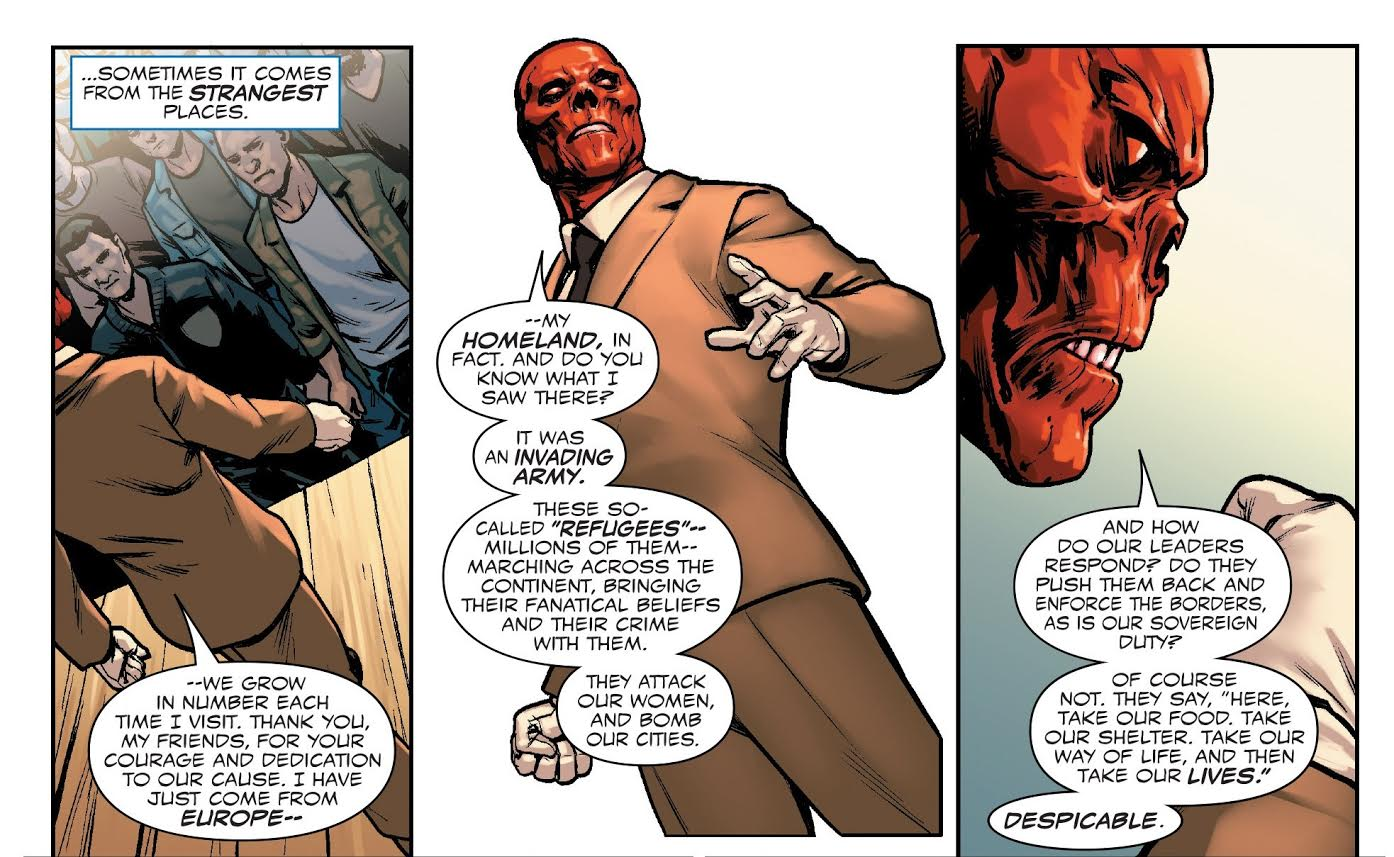 Red Skull Speech
