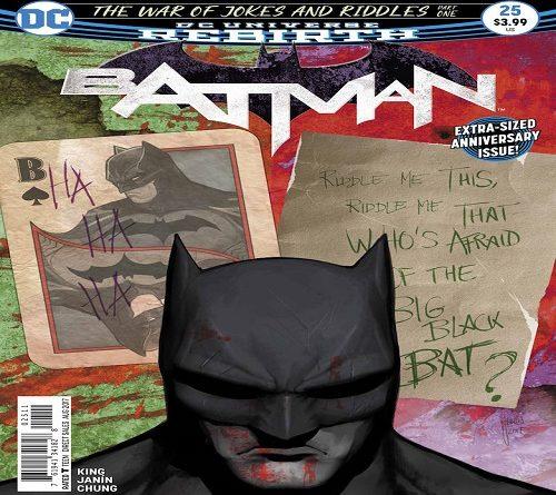 Batman Rebirth 25 Cover Web