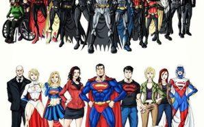 Batman vs Superfamily cover