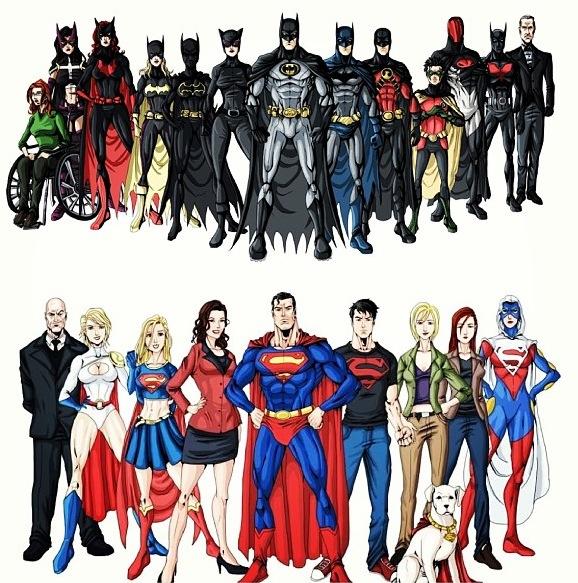 Batman vs Superfamily
