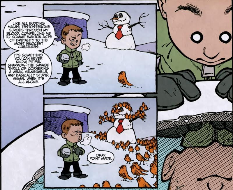 LAK Calvin and Hobbes