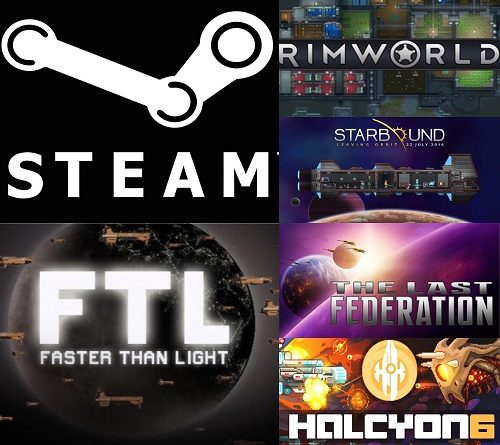 Steam best Scifi indie games cover
