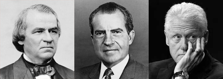 impeached-presidents-johnson-nixon-clinton-mcclures-magazine