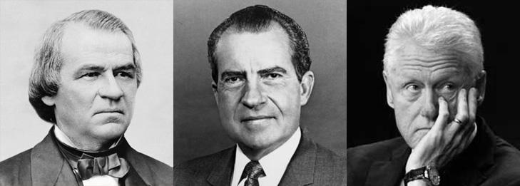 impeached-presidents-johnson-nixon-clinton-mcclures-magazine