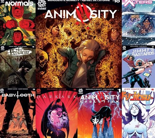 October Solicits Cover web
