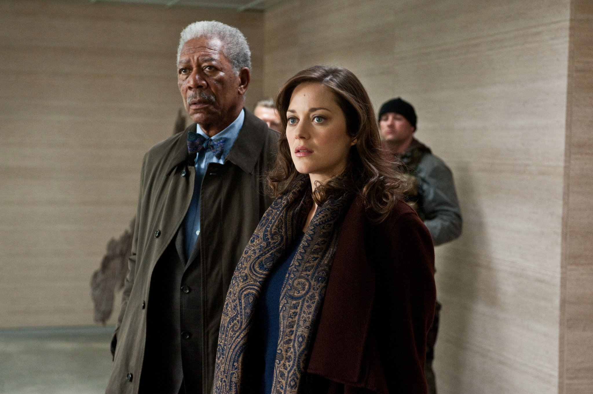 morgan-freeman-marion-cotillard-dark-knight-risesjpg