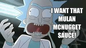 Mulan McNugget Sauce