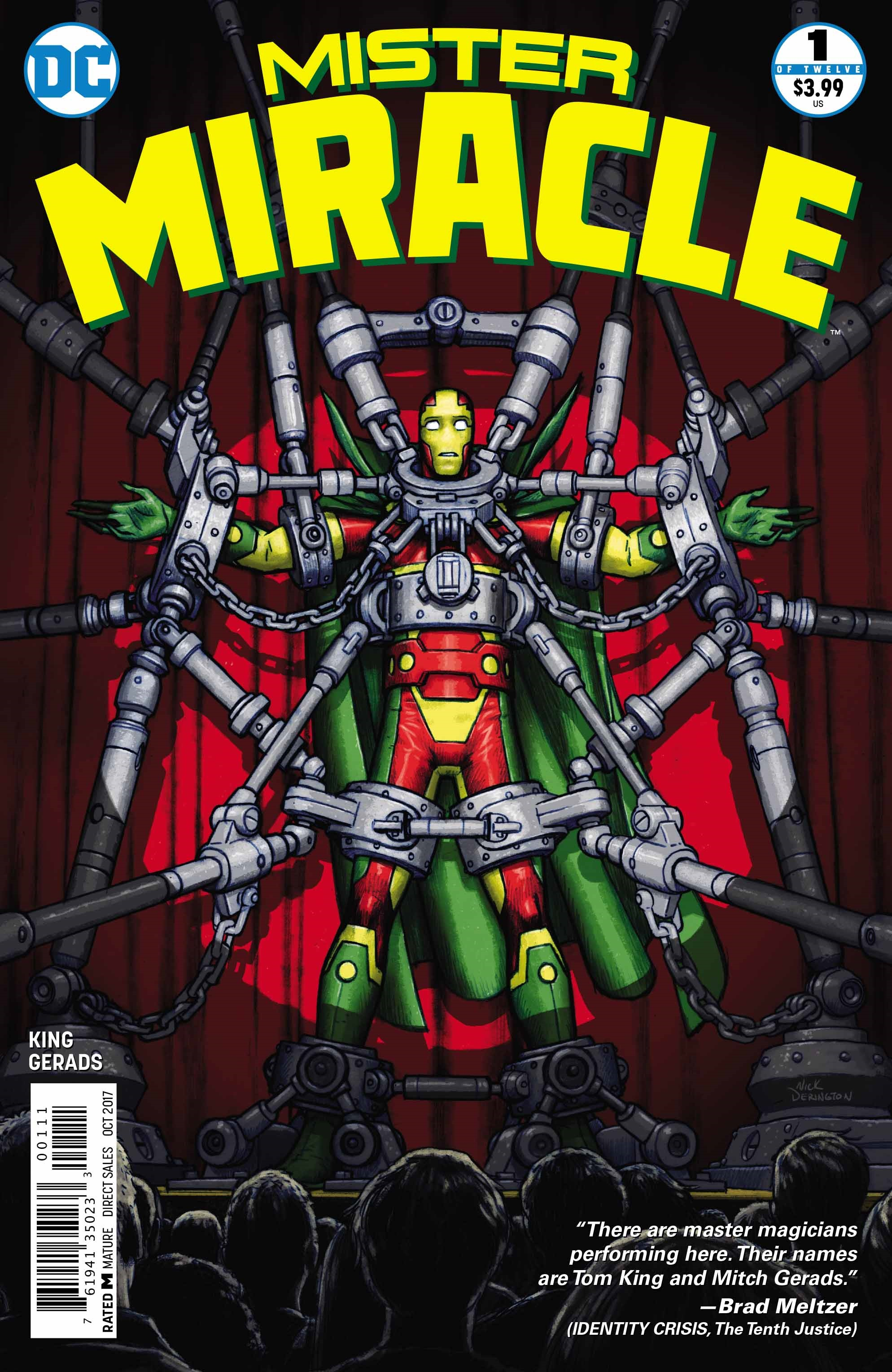 mISTER mIRACLE cOVER 1
